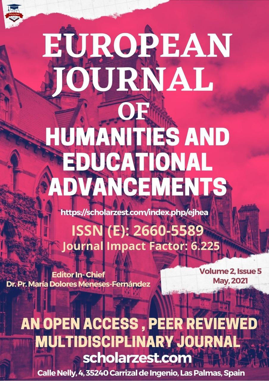 View Vol. 2 No. 5 (2021): EJHEA